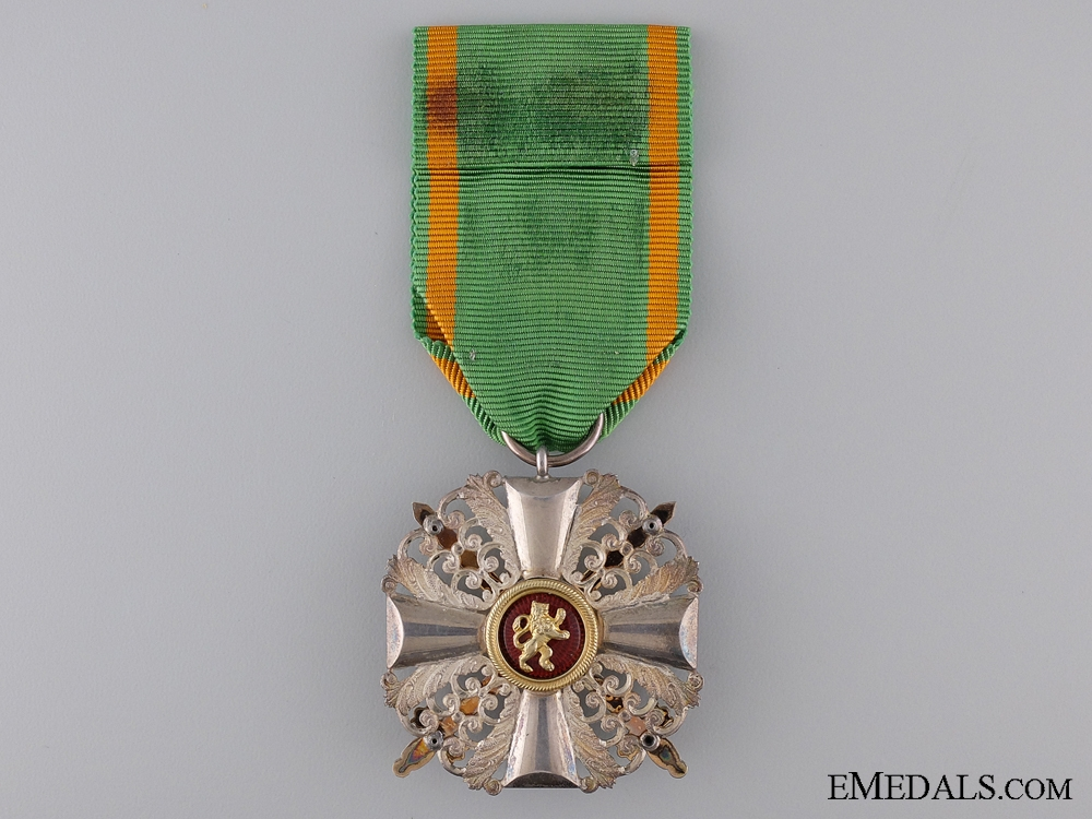 Order of Zahringer Lion with Swords; Knight's Cross Second Class