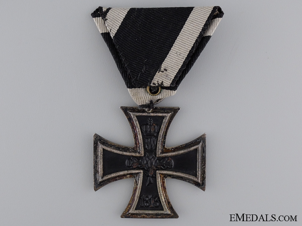 "1914 Second Class Iron Cross; Marked ""E"""