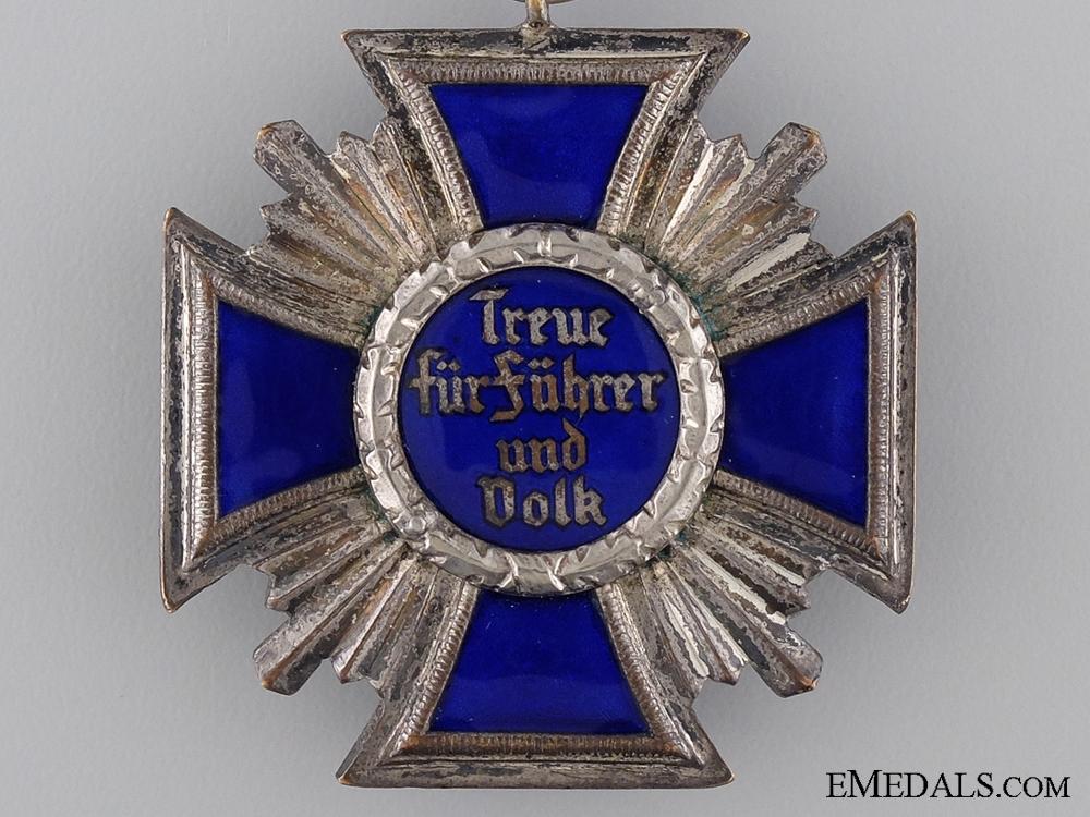 An NSDAP Long Service Award; Second Class for 15 Years