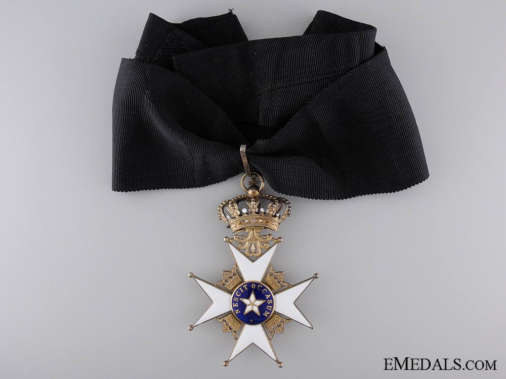 A Swedish Order of the North Star; Commander's Cross