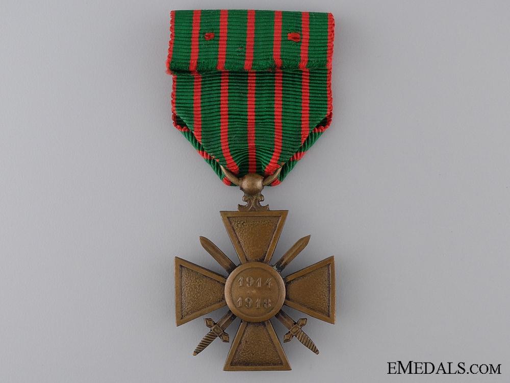 A First War French War Cross 1914-1918