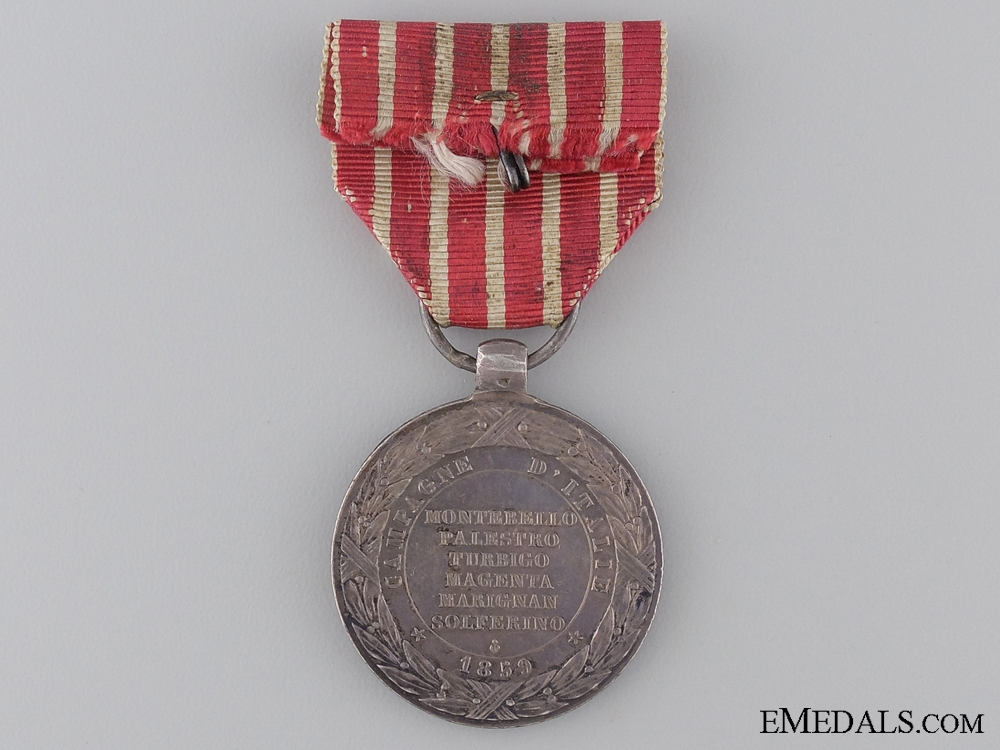 An 1859 Italy Campaign Medal