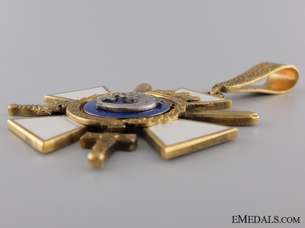 A Portuguese Order of Naval Merit; Commander's Neck Cross