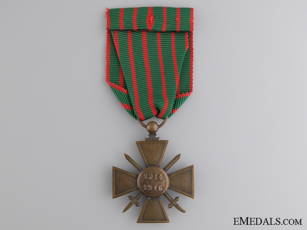 A WWI French War Cross 1914-1916