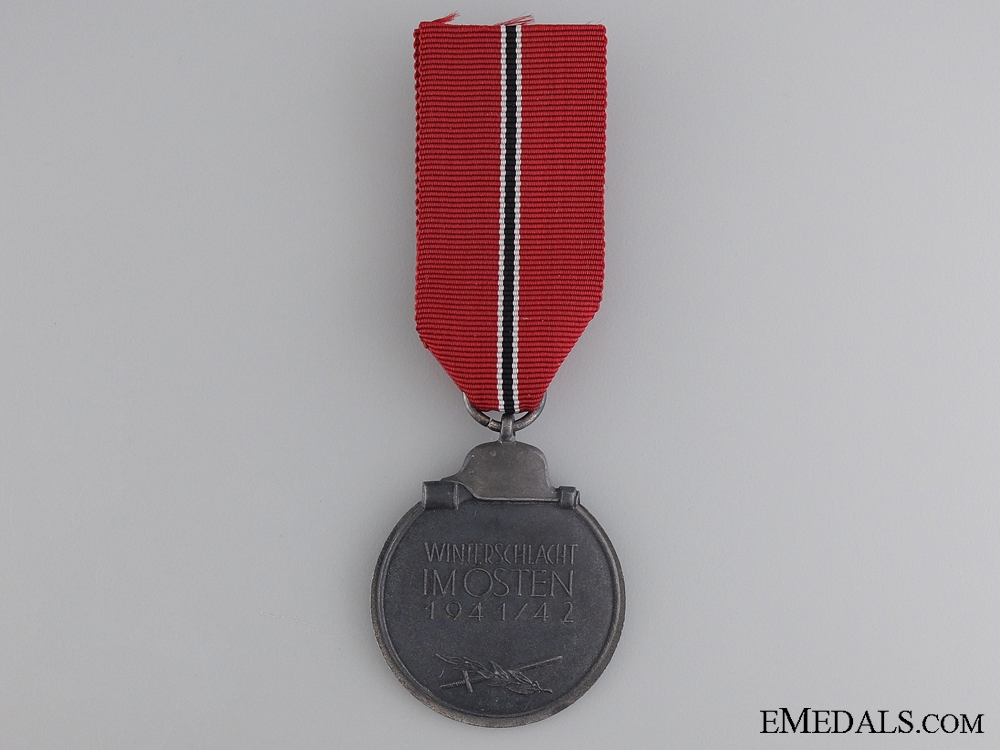 A Second War East medal 1941/42 by Zimmermann