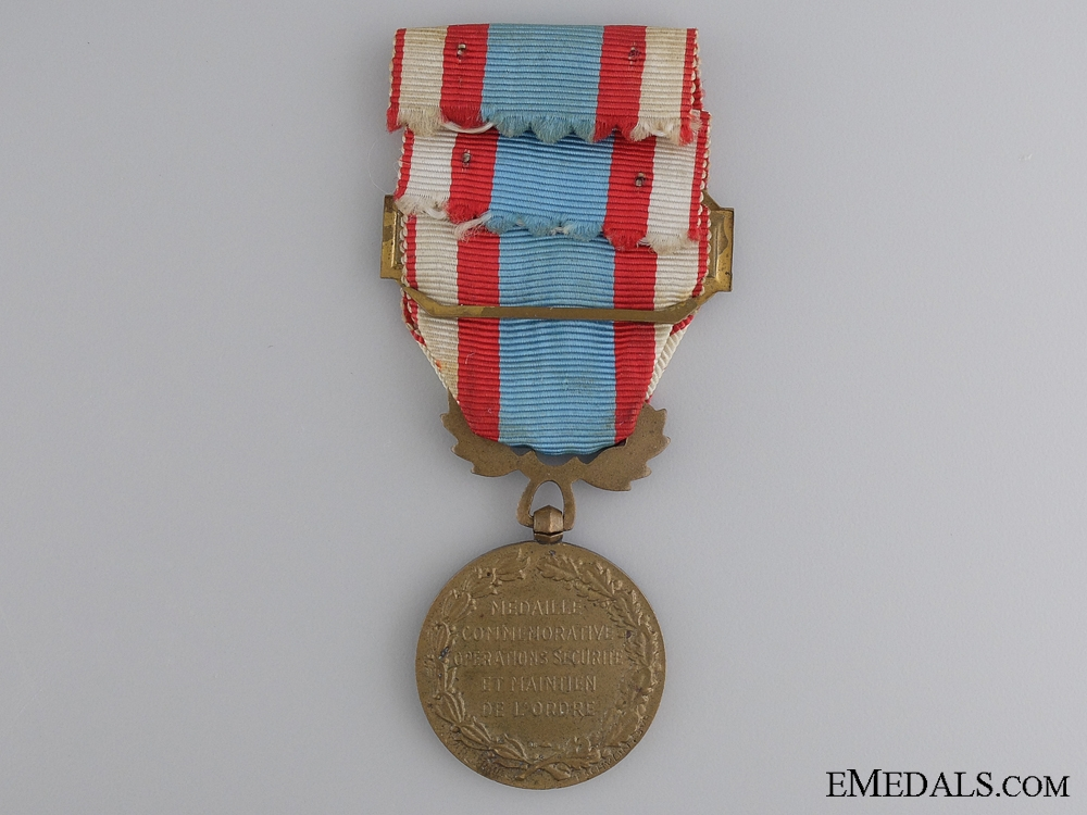 An 1958 French Medal for Operations in North Africa