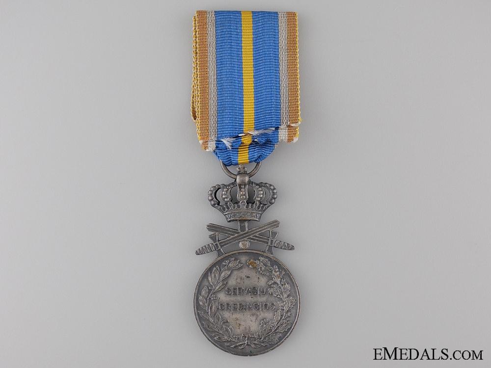 A Romanian Loyal Service Cross; 2nd Class