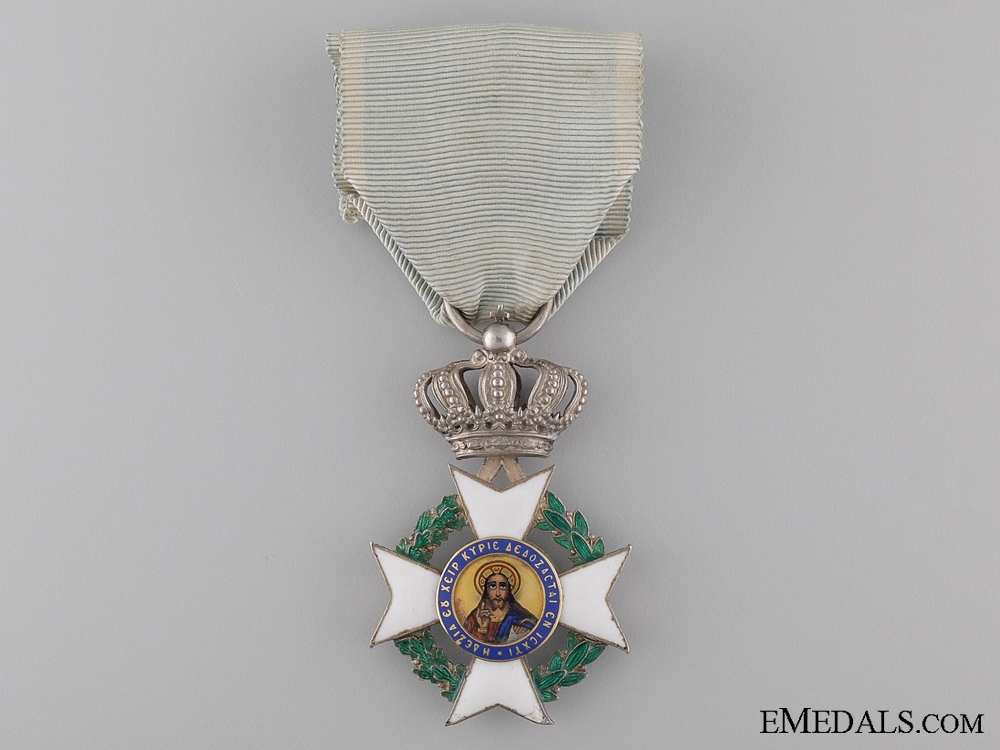 The Order of the Redeemer; Knight by Georges Pomonis Athenes