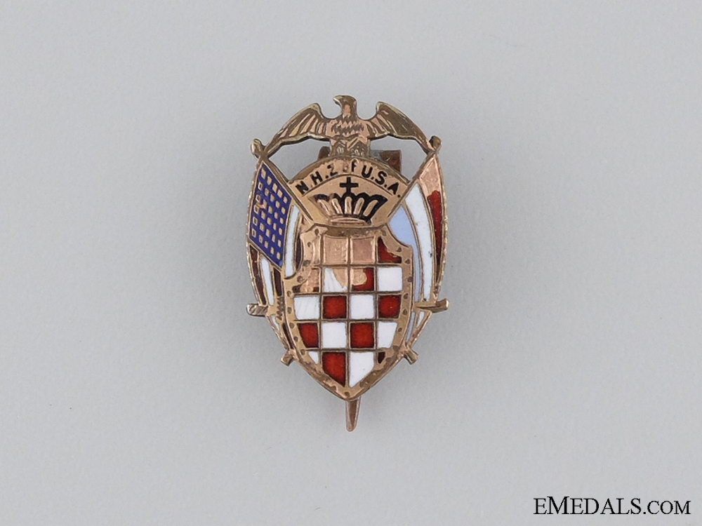A Lot of a Member of the National Croatian Society of the USA