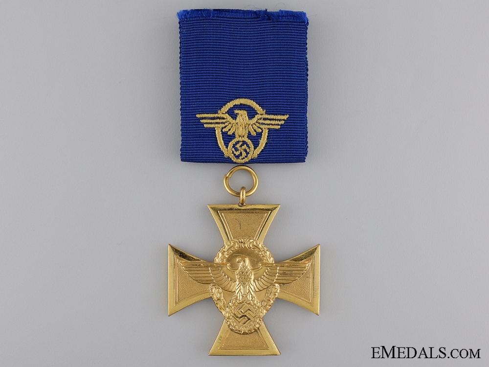 A First Class Police Long Service Cross