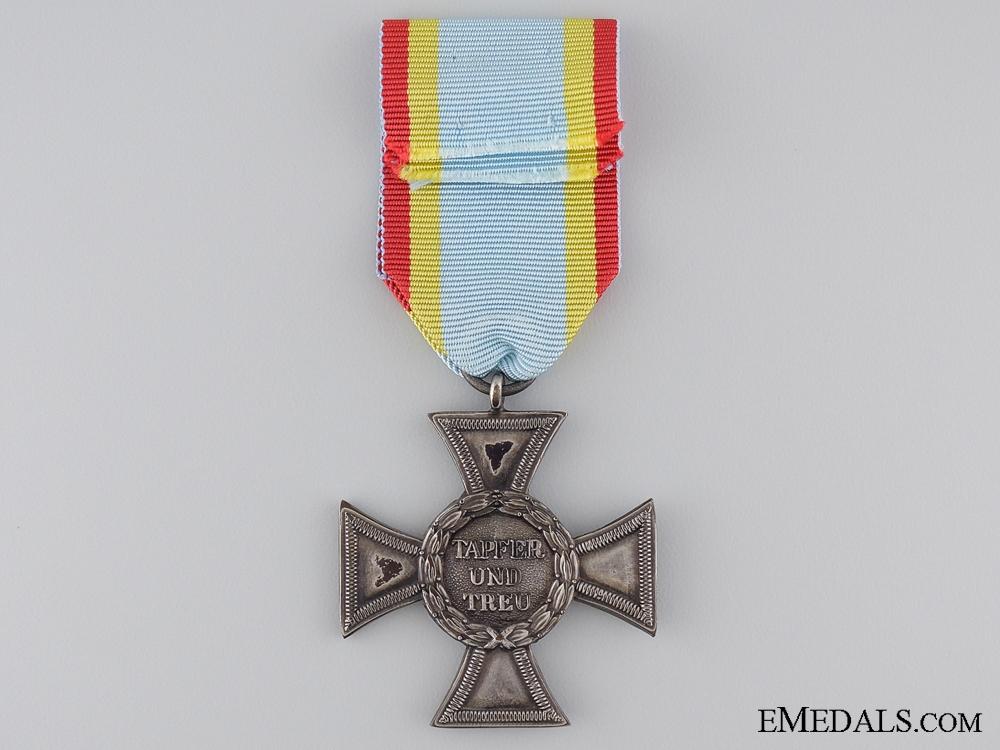 A WWI Mecklenburg-Strelitz 2nd Class Silver Cross 1914-1916