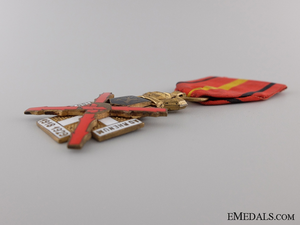 A Belgian Cross for the Occupation of the Rhineland