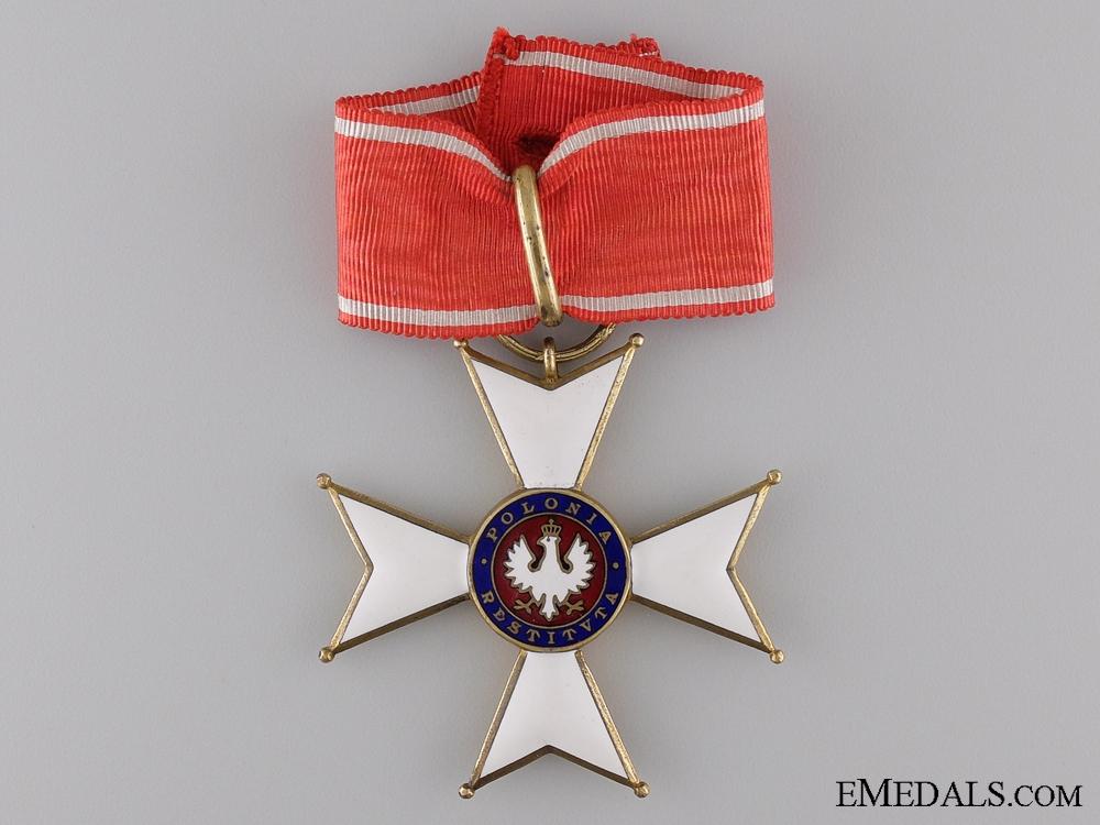 1918 Order of Polonia Restituta; Commander's Cross