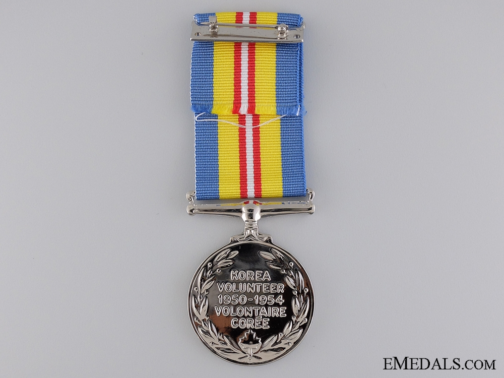 A Canadian Korea Volunteer Service Medal 1950-54