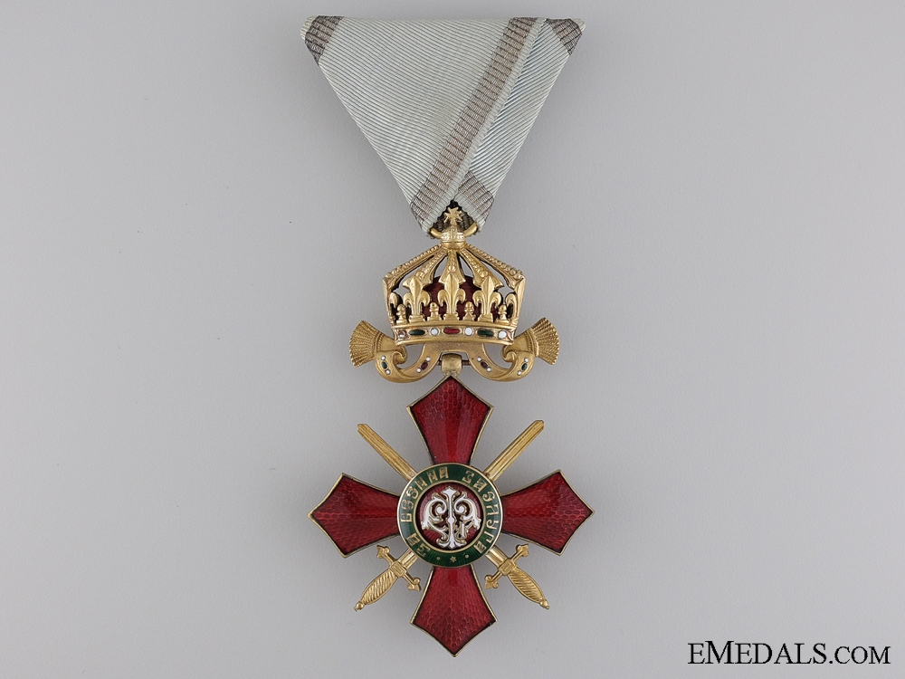 Bulgaria, Kingdom. An Order of Military Merit, Fourth Class Officer, c.1910