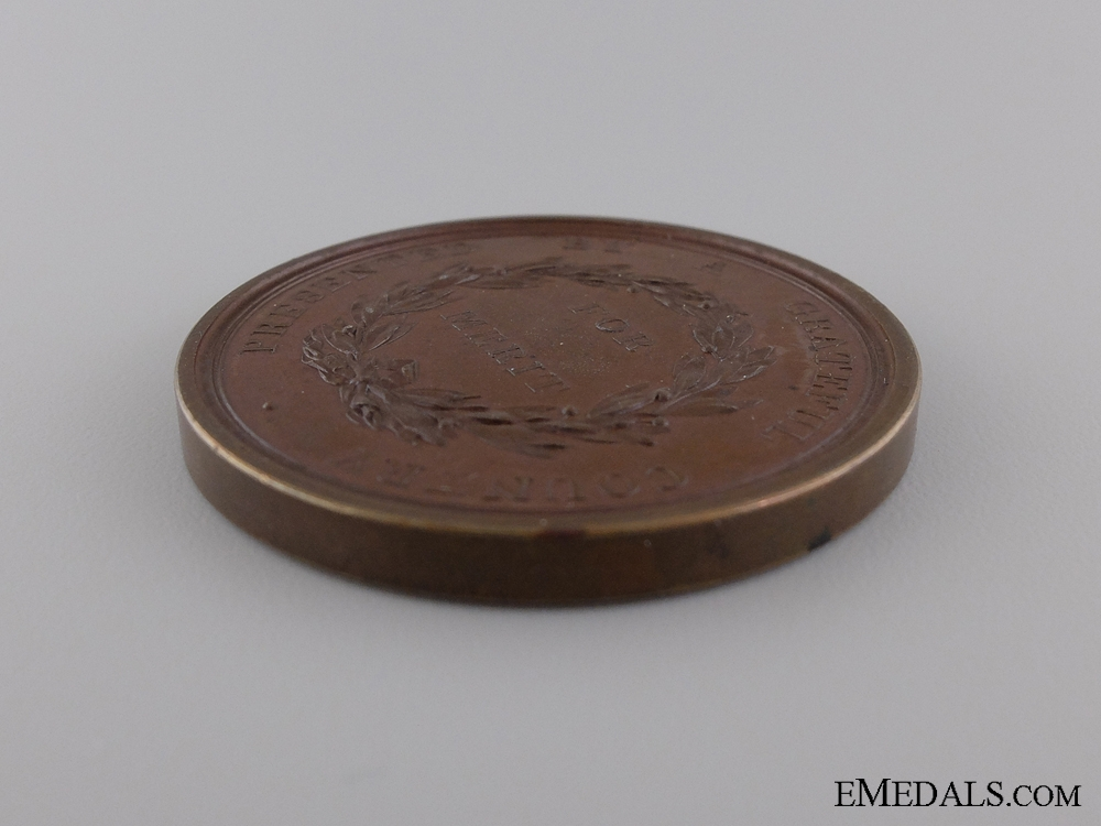 A Rare Bronze 1812-14 Upper Canada Preserved Medal