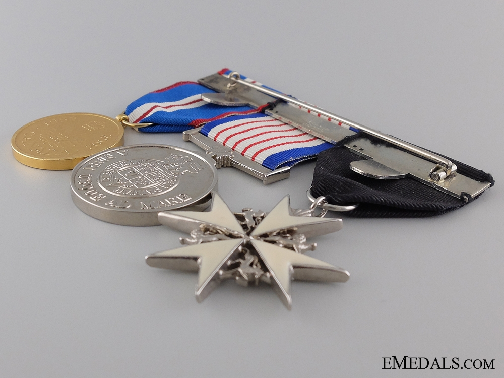 A Canadian Golden Junilee Medal Bar with Three Awards