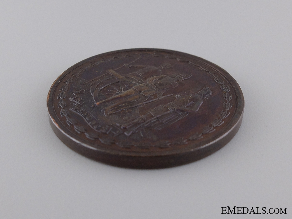 1881 Scottish Volunteer Review by Queen Victoria Medal