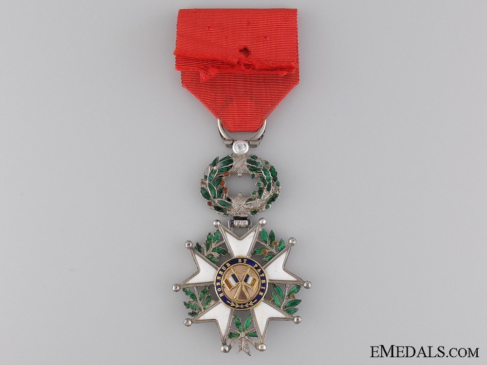 A 1870-1951 French Legion D'Honneur with Diamonds