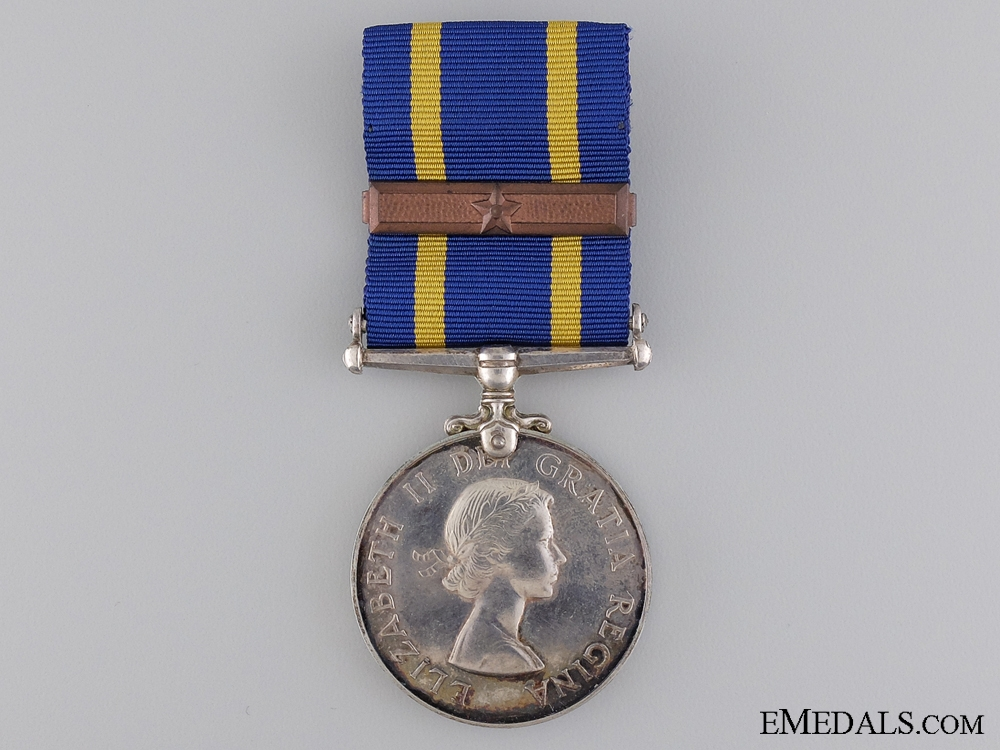 A Royal Canadian Mounted Police Long Service Medal to Morin