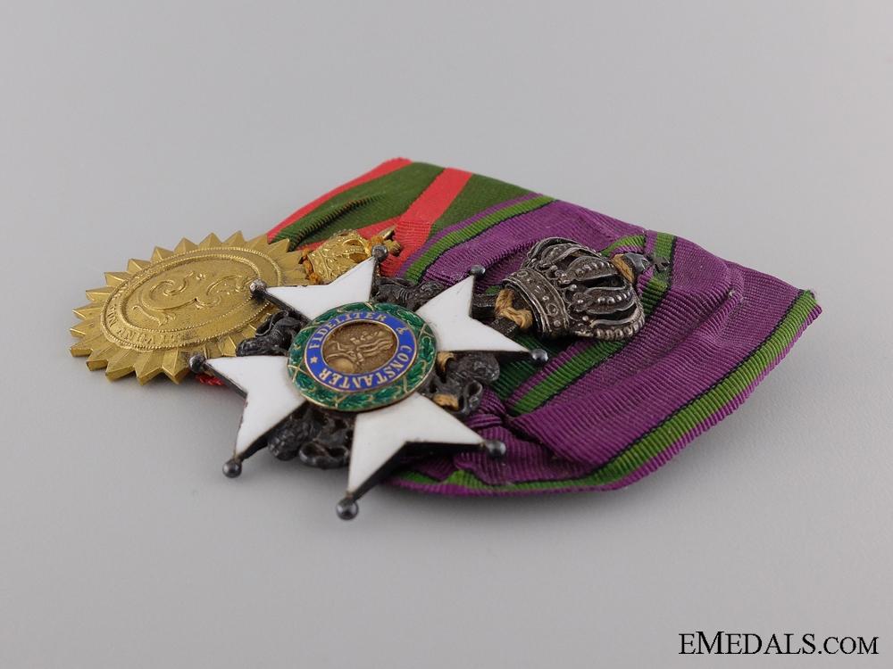 A Fine Saxon & Anhalt Medal Pair