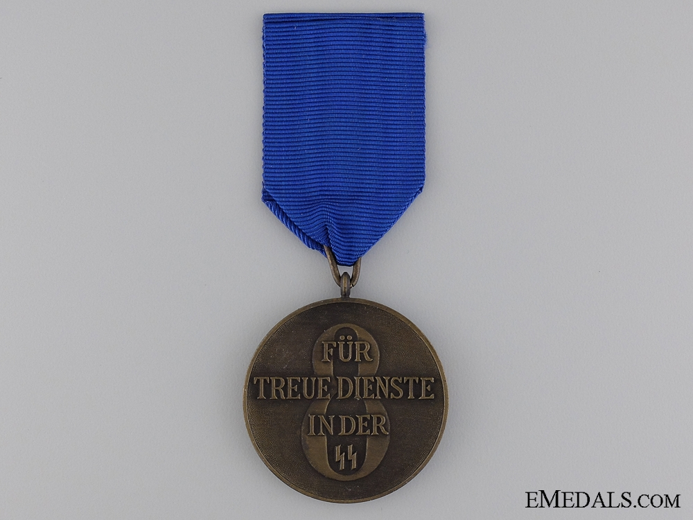 An  SS Long Service Award, Third Class