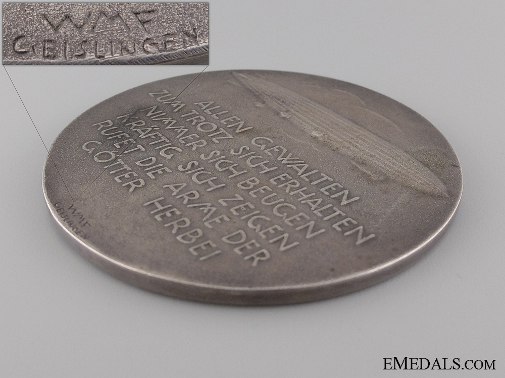 A 1925 Zeppelin-Eckener Donation Merit Medal