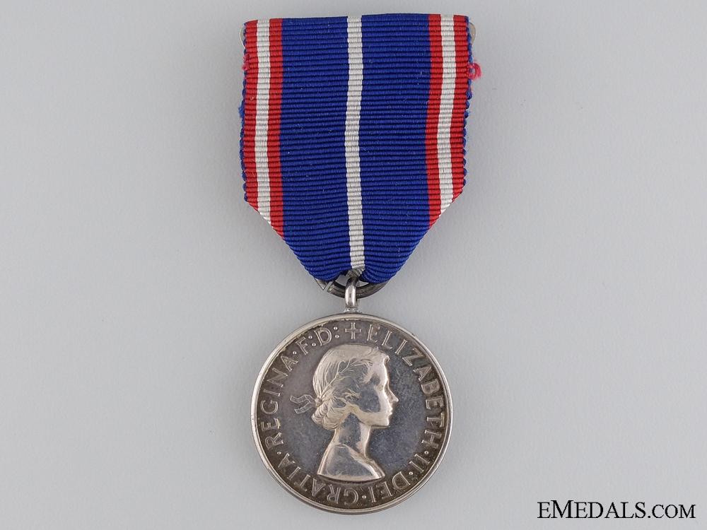 A Royal Victorian Medal; Silver Grade