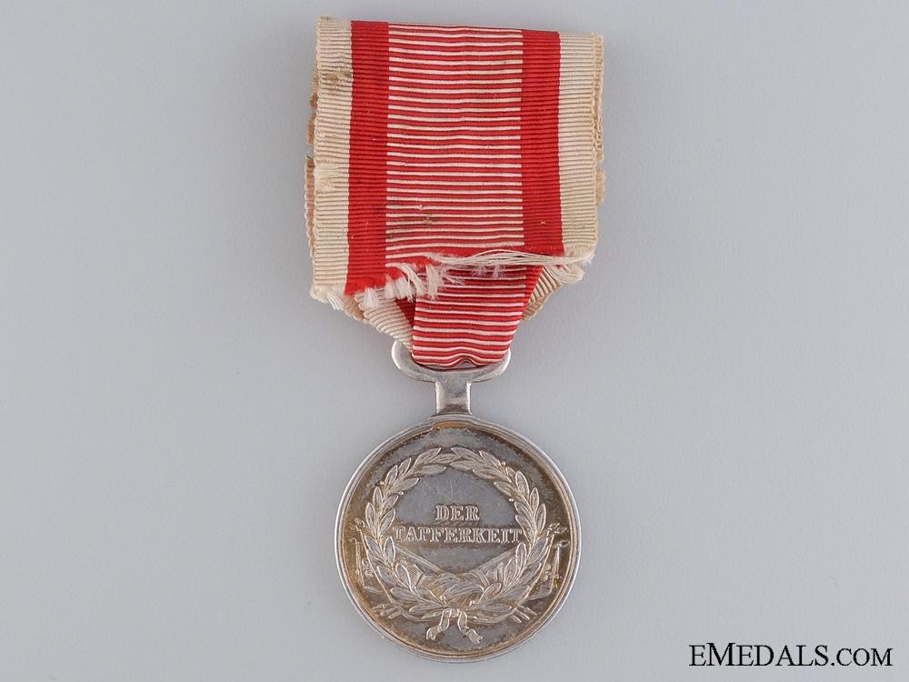 An Austrian Bravery Medal; 1839-1849