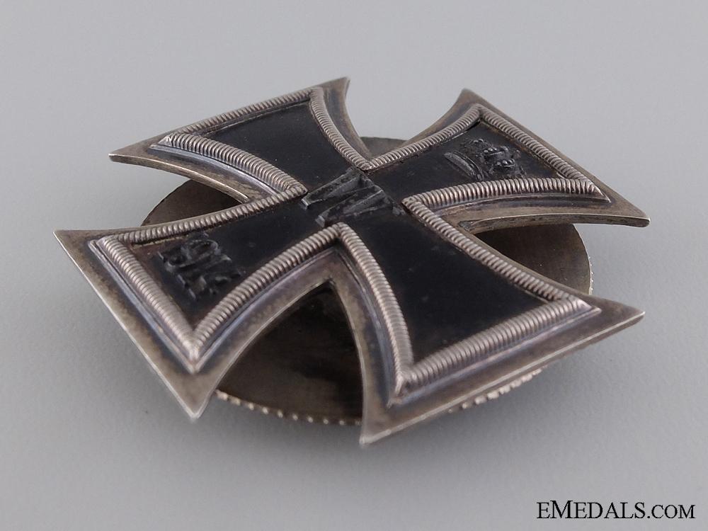 An Iron Cross 1st Class 1914; 925 Silver Hallmarked