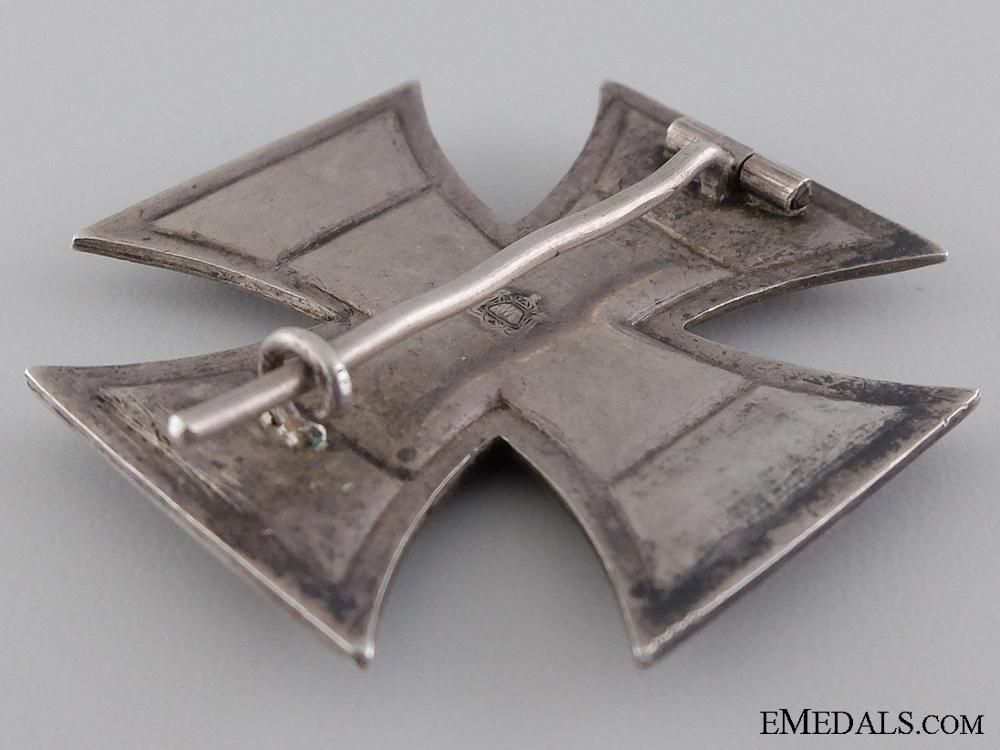 An Iron Cross First Class 1914; Maker Marked