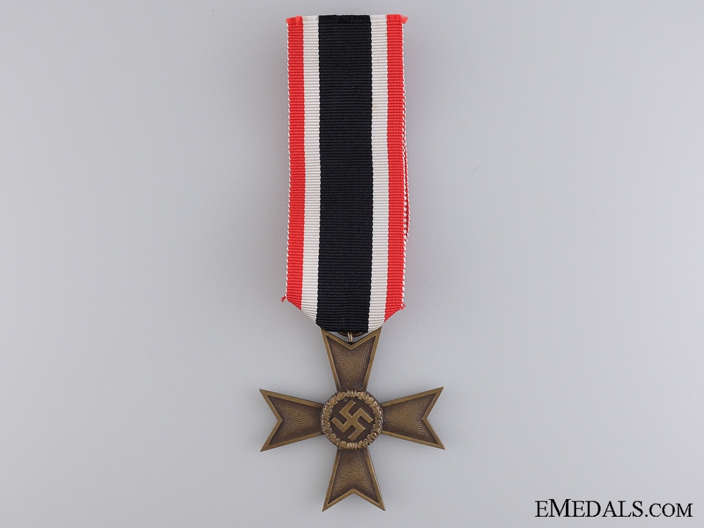 A Second War War Merit Cross; 2nd Class with Cased