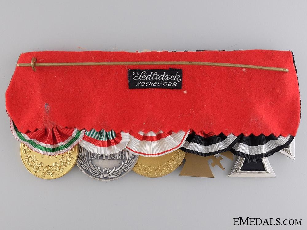A First War Medal Bar of Five Awards