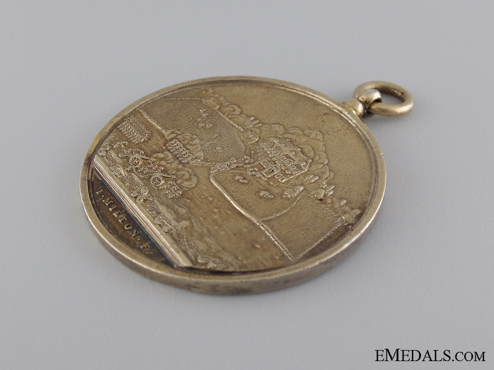 A Rare 1777 Battle of Germantown Campaign Medal