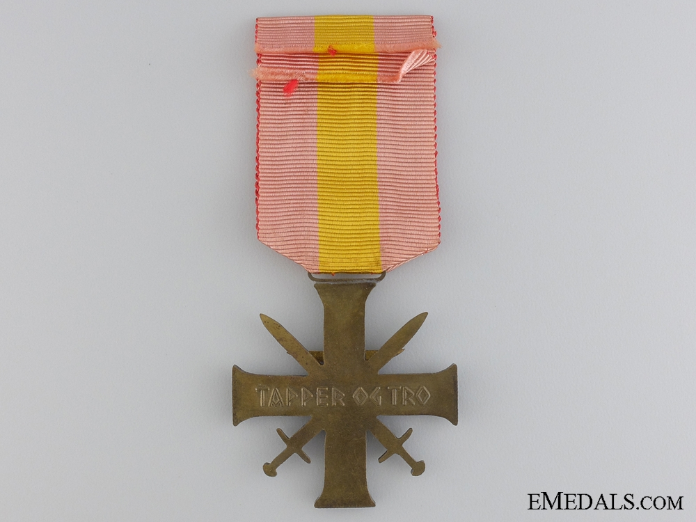Norway. A Merit Cross with Swords, Quisling issue, Type II, C.1942