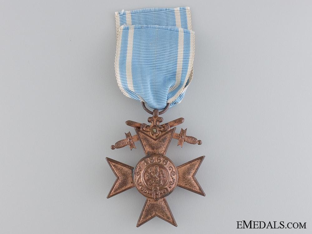A Bavarian Military Merit Cross; 3rd Class by Deschler & Sohn