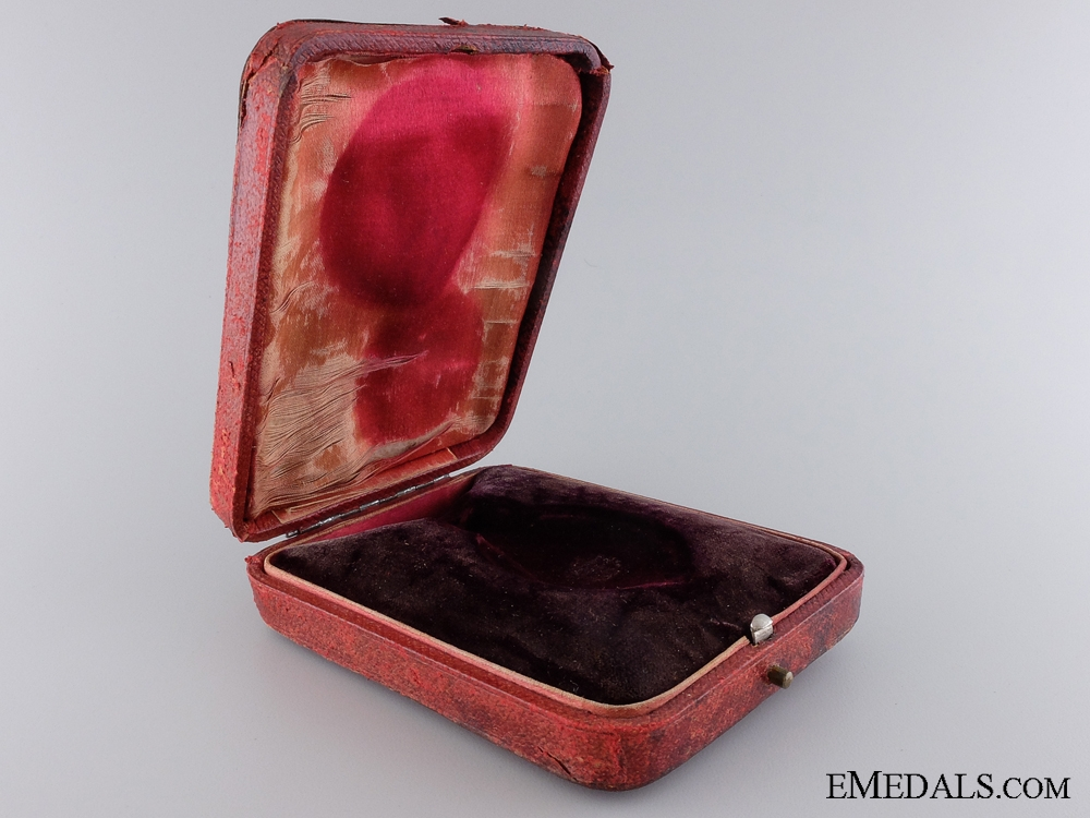 A George V Albert Medal Case