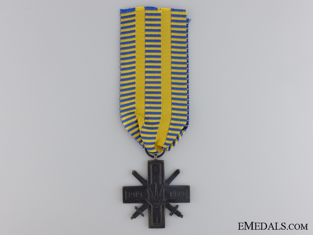 A Scarce Unification Cross for Ukrainian Lands 1919