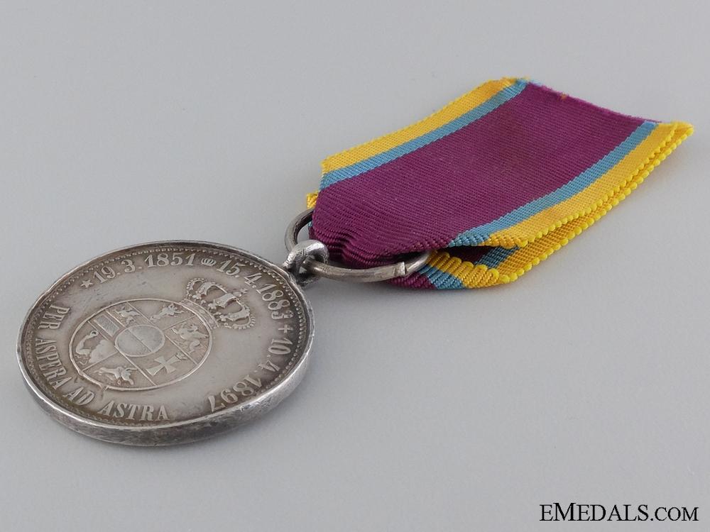 An 1897 Friedrich Franz III Commemorative Medal