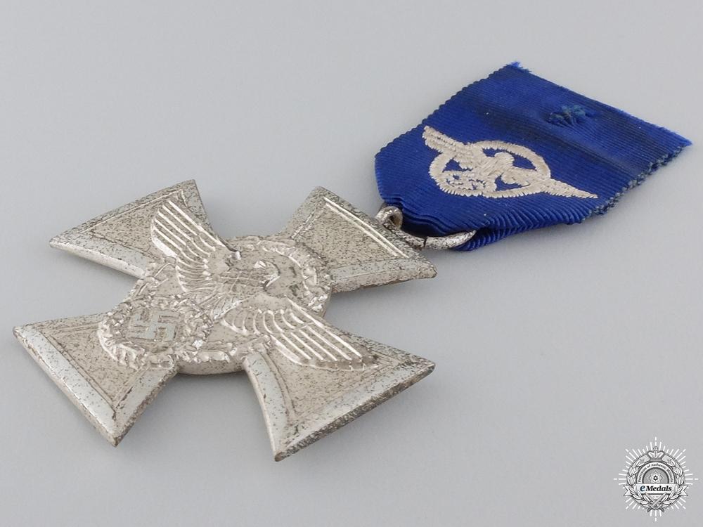 A Police Long Service Cross; Second Class