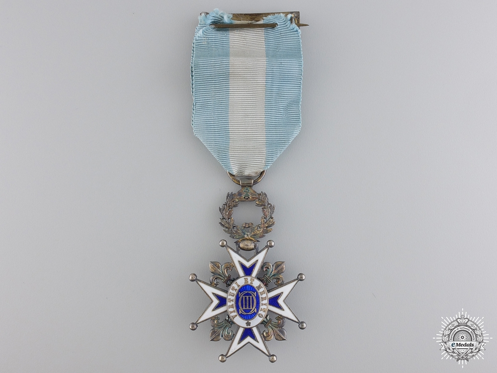 A Spanish Order of Charles III; Knight's Badge