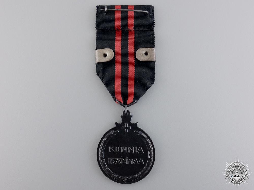A Finnish Winter War Medal 1939-1940 to a Finnish Airman