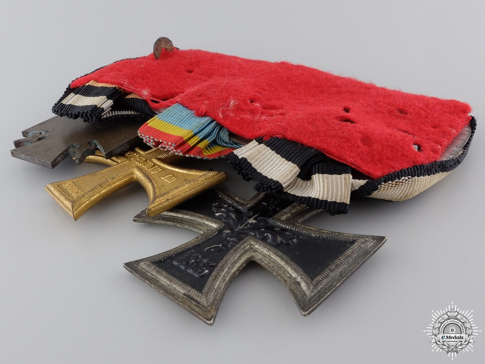 A Mecklenburg-Schwerin First War Medal Bar