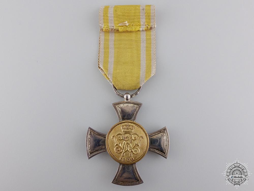 A Prussian 1900 General Honour Decoration Cross