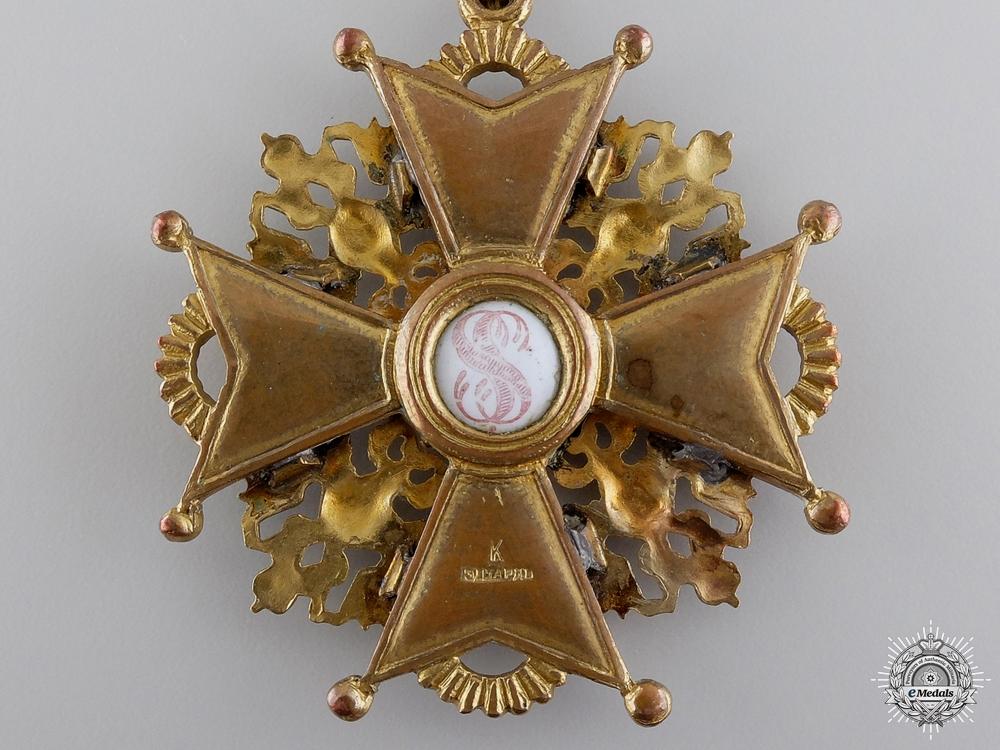 A First War Russian Order of St. Stanislaus; 2nd Class by Eduard