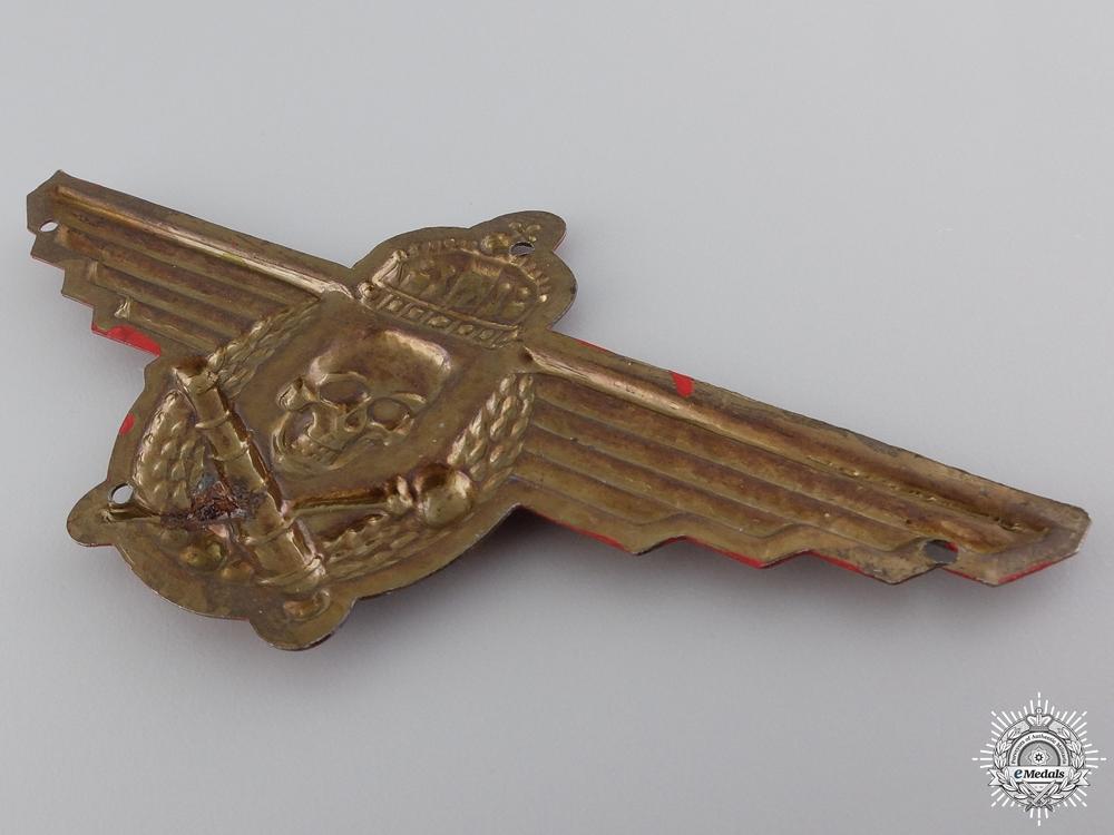 A Rare Hungarian Artillery Badge