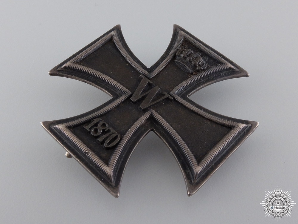 A Fine Iron Cross First Class 1870 by I. Wagner & Sohn