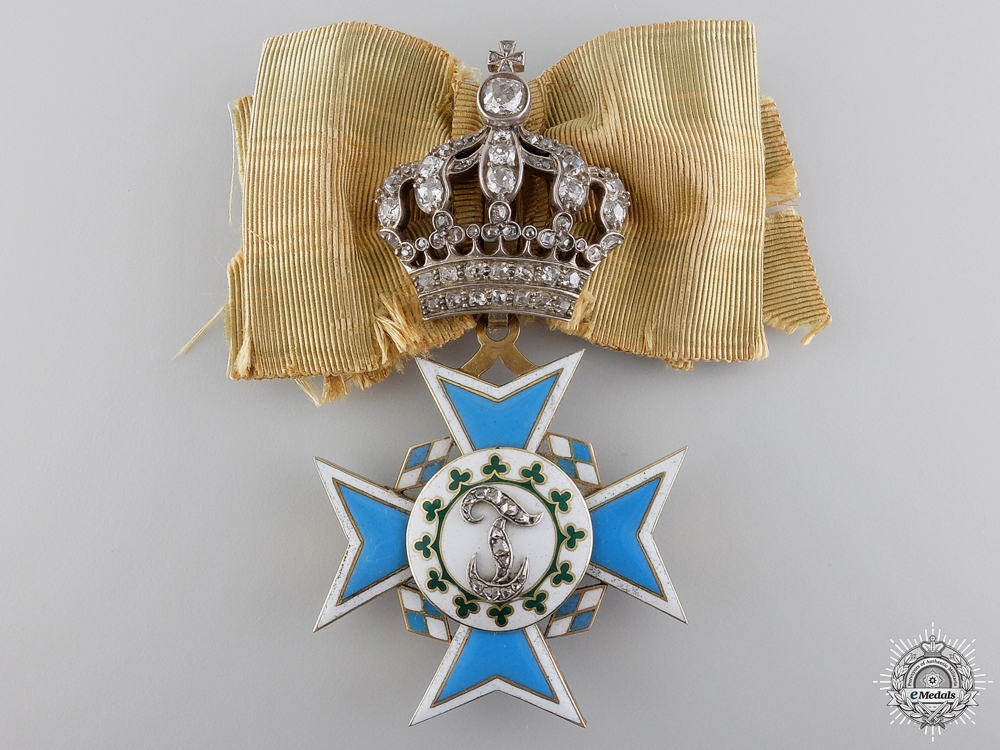 A Rare Bavarian Order of Theresa; Awarded to Reigning Queens