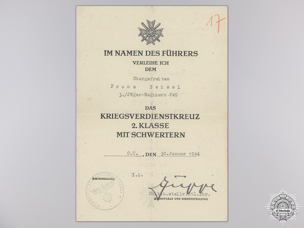 A Scarce Anti-Partisan Document Group for Action in Balkans