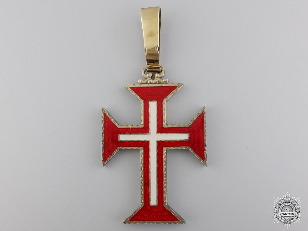 A Portuguese Military Order of the Christ; Grand Officer